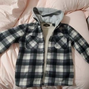 Boys button up jacket - S 7/8
